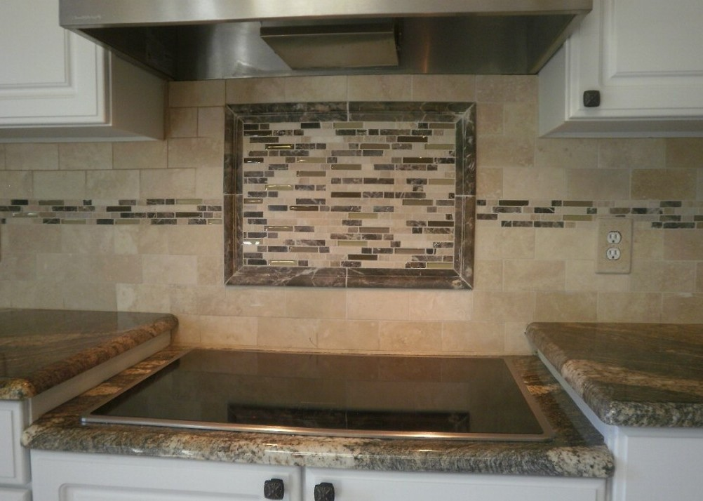 Kitchen Backsplash Ideas Glass Tile