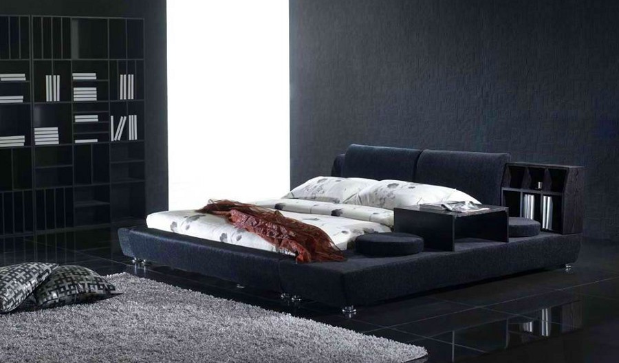 11 most elegant black bedroom designs for Bedroom designs black