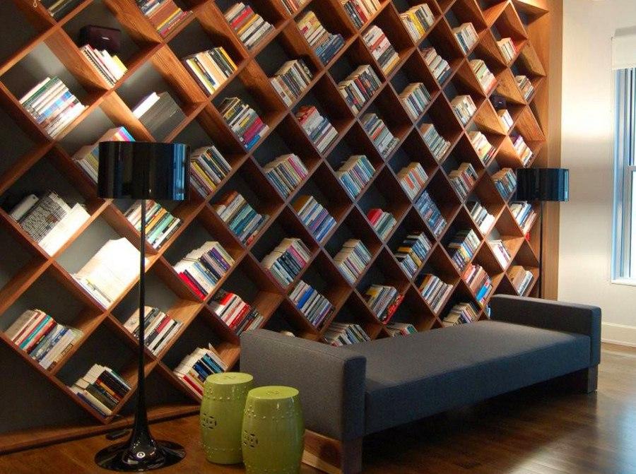 Diamond Bookshelf