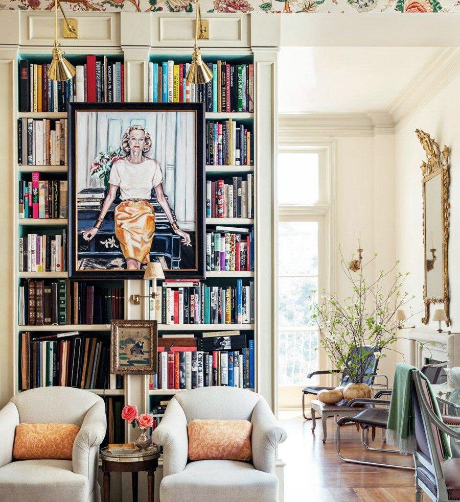 Bookshelf Painting