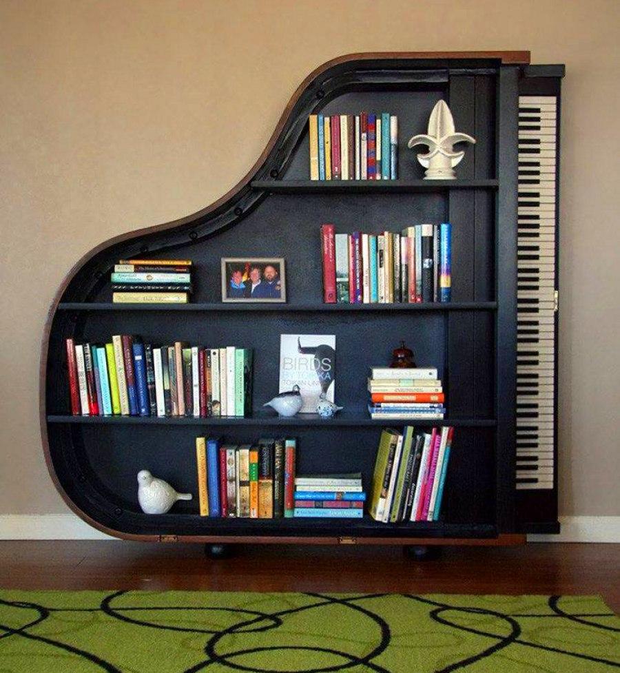 Piano Bookshelf