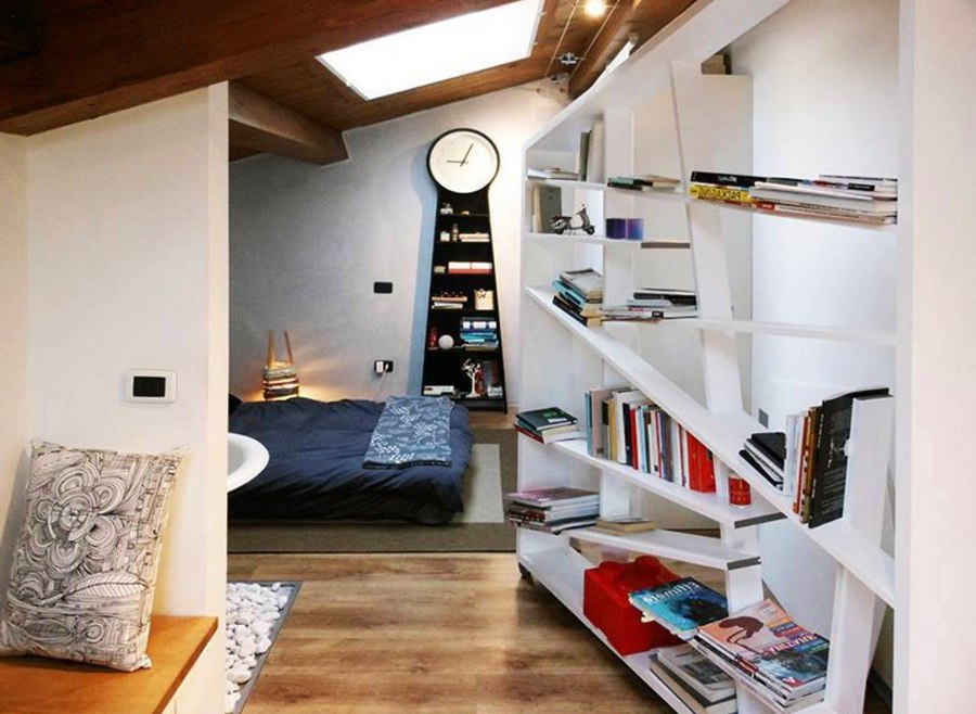 Tilted Bookshelf