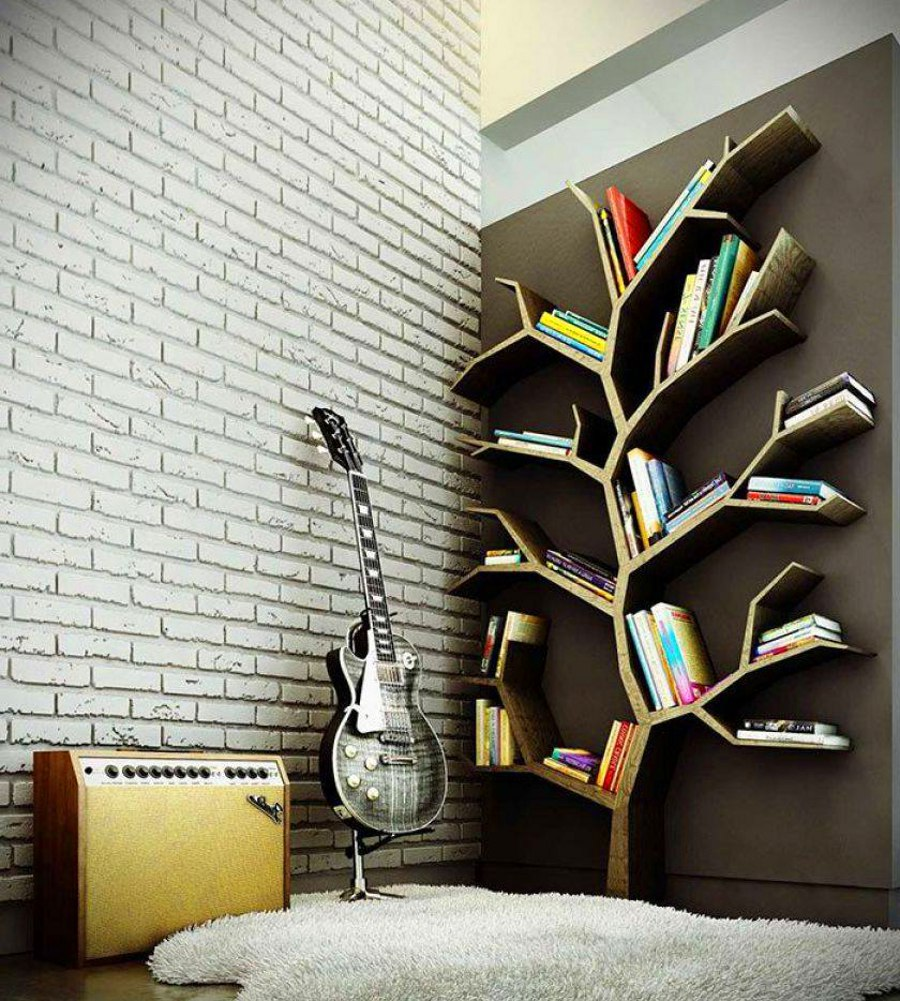 20 creative bookshelf designs the envy of every bookworm for Bibliotheque meuble