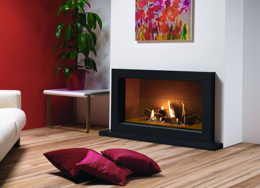 Cozy Fireplace Design