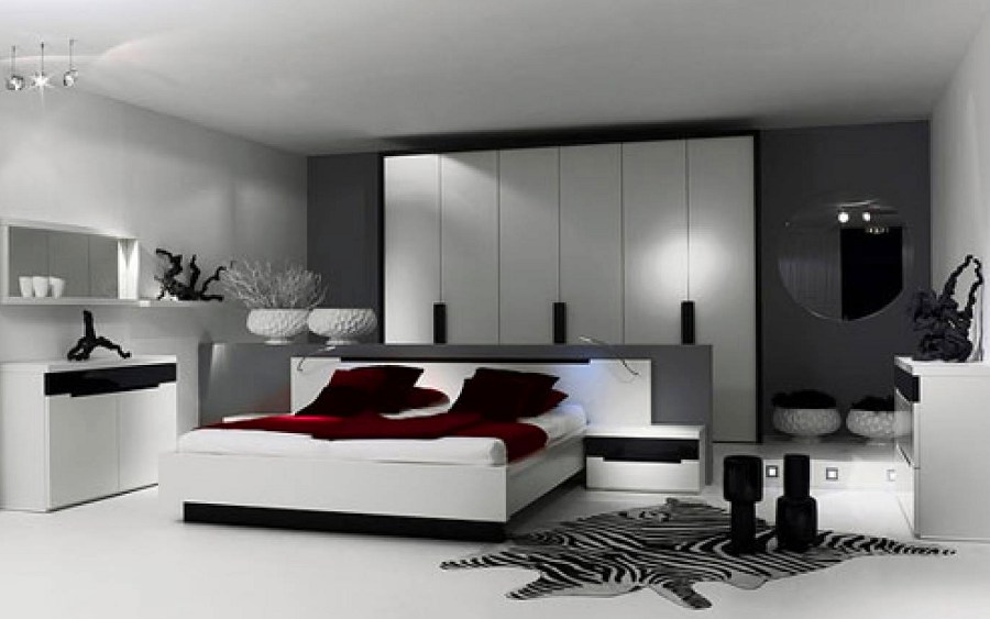 Dark Grey Bedroom