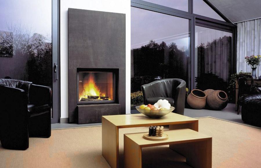 Modern House Fireplace