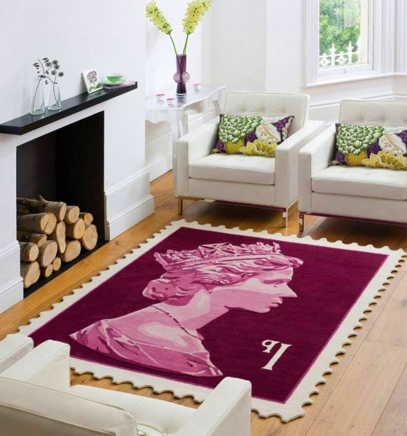 Stamp Rug 16 amazing rug designs that completely transform home decor