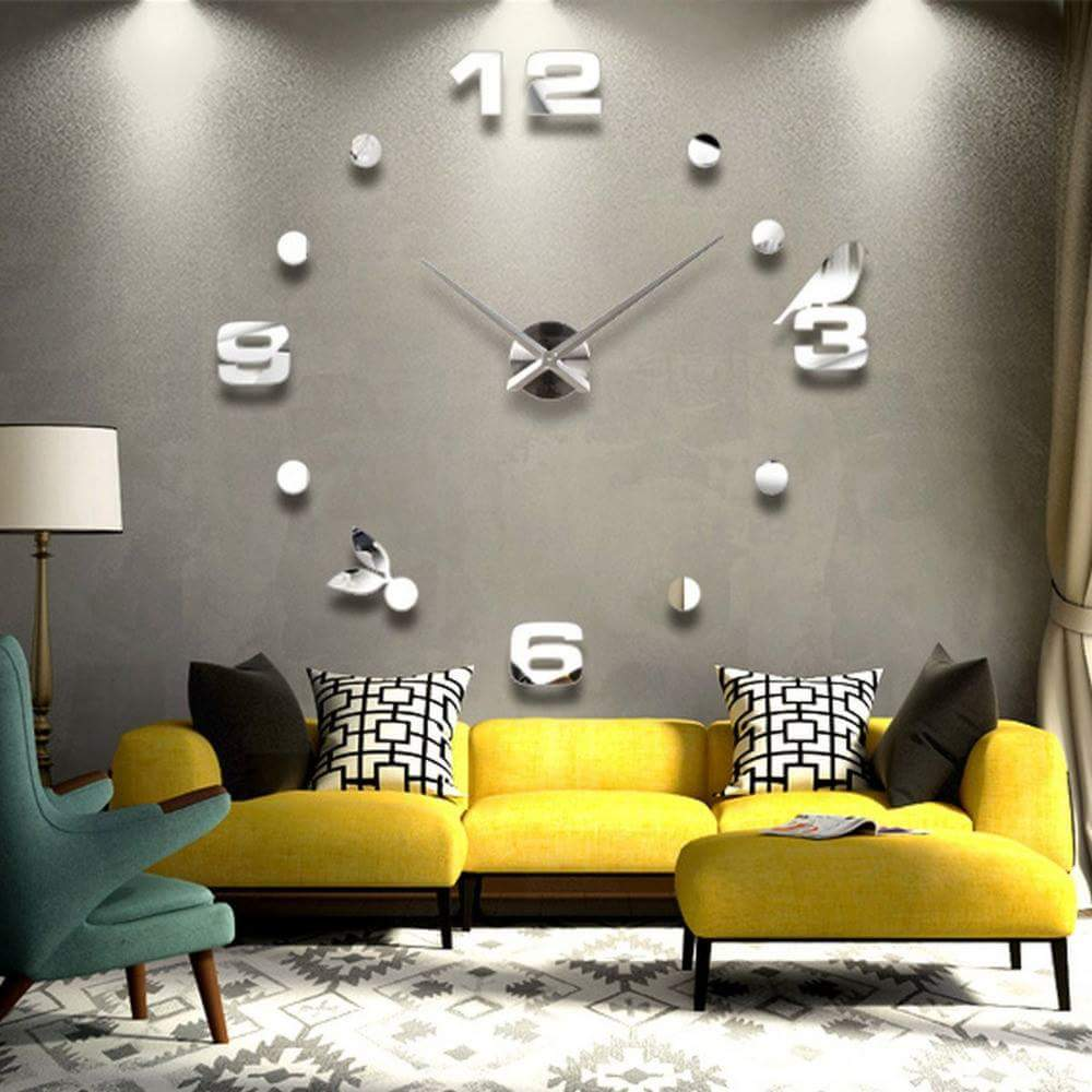 15 big time designs with huge wall clocks - Relojes de pared modernos ...