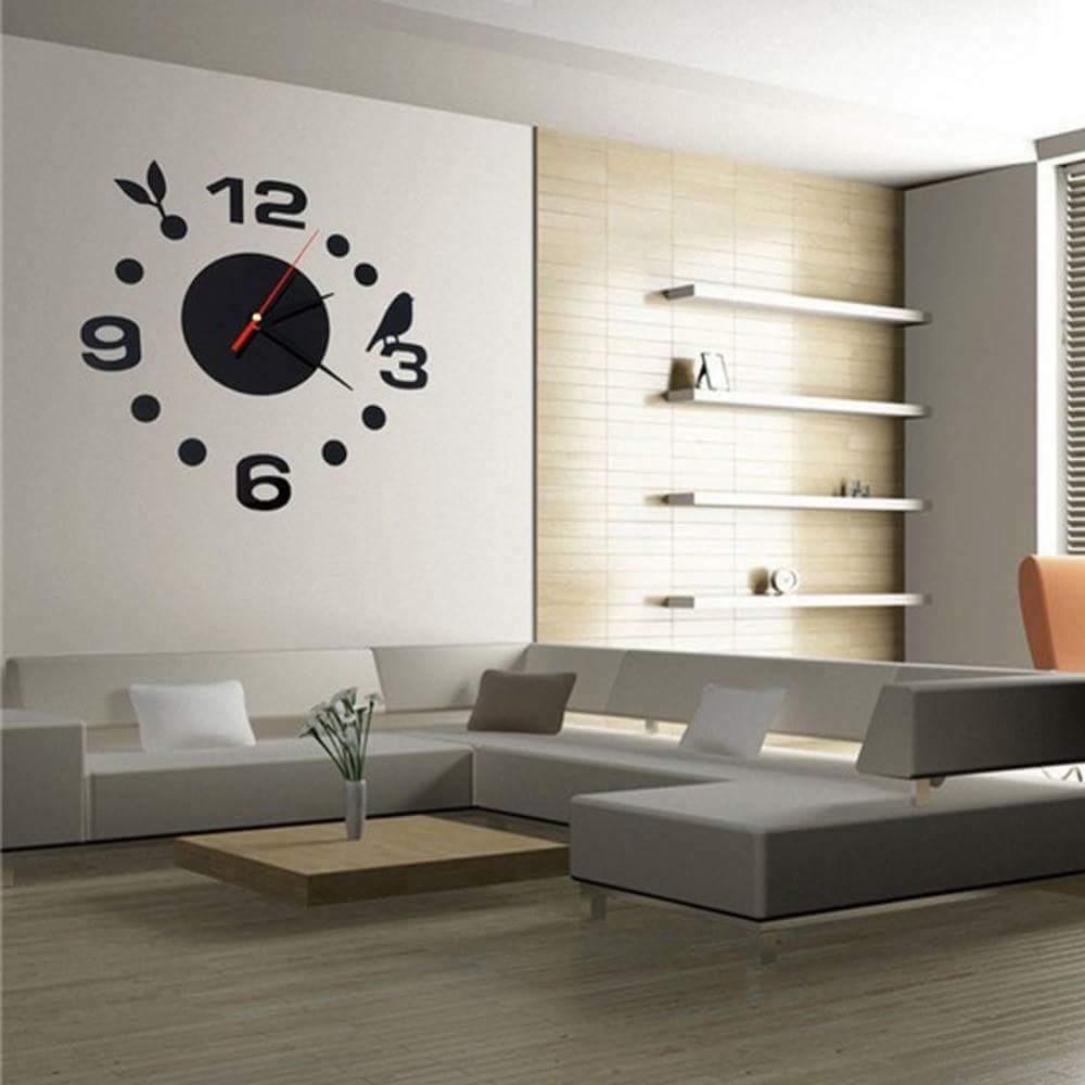 15 big time designs with huge wall clocks - Deco moderne ouderlijke kamer ...