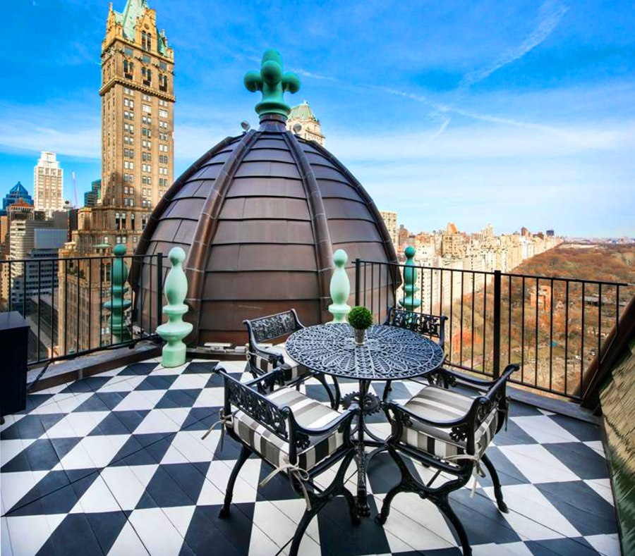 Apartments In New York City: 12 Most Beautiful Private Apartment Terraces In New York City