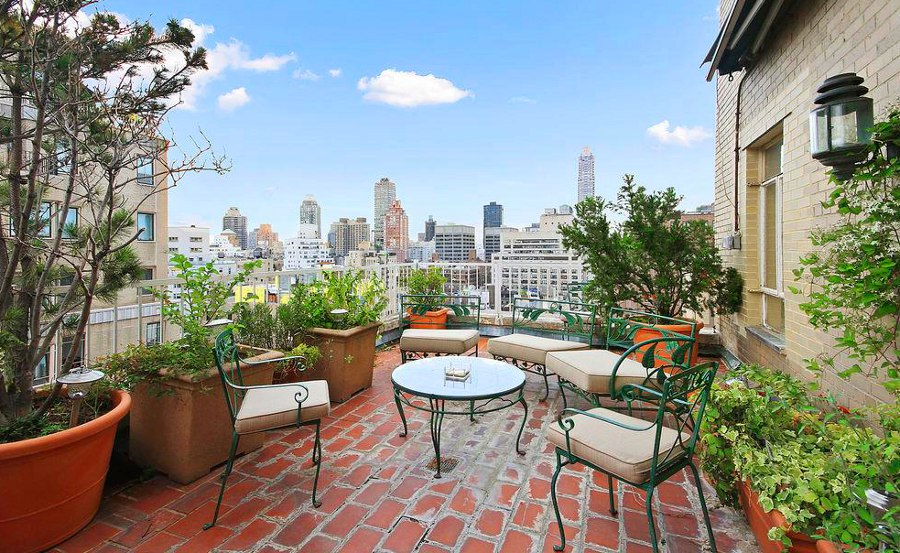 12 most beautiful private apartment terraces in new york city for Terrace 33 city garden