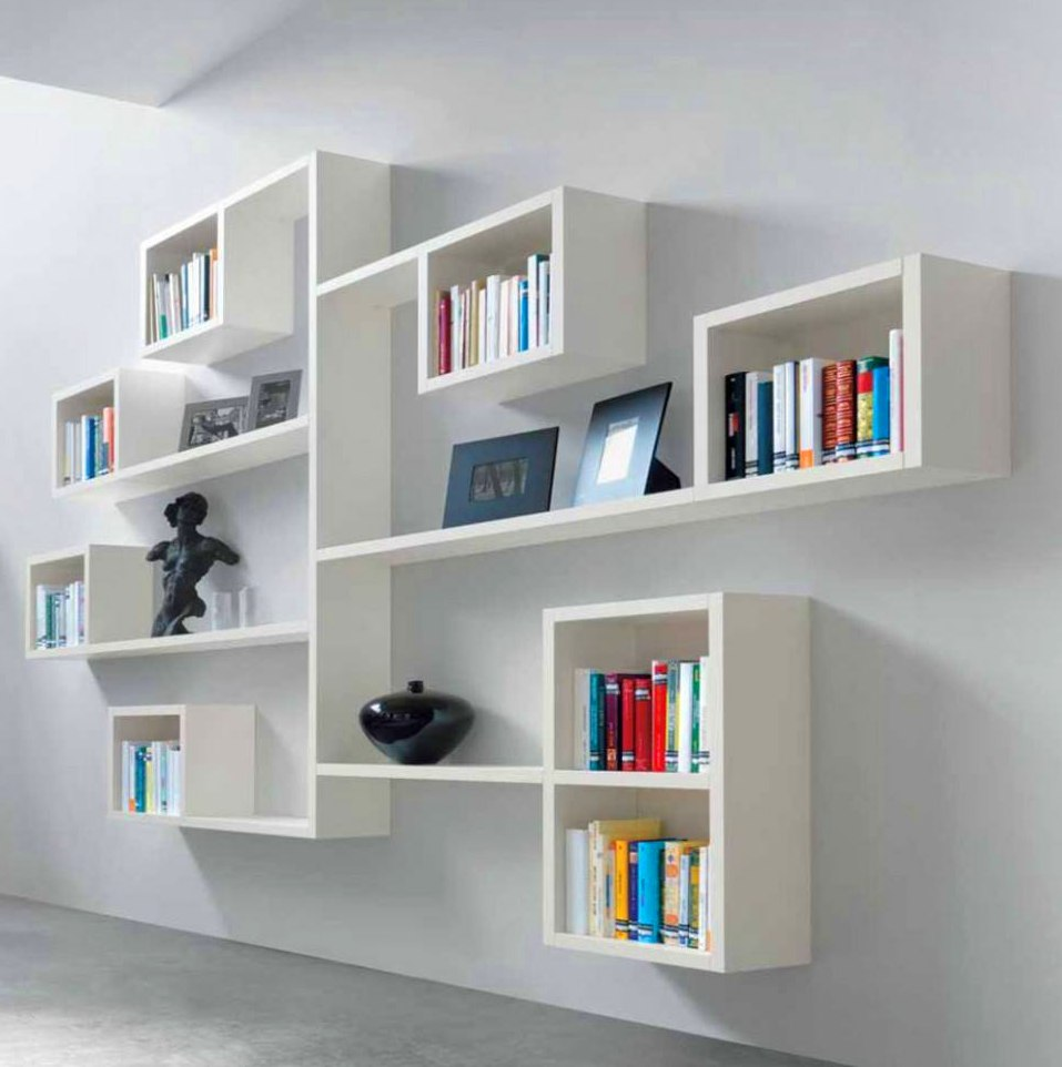white bookshelf - Picture Of Book Shelf