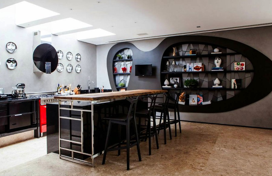 13 modern designs for the ultimate kitchen bar for Ultimate kitchen design