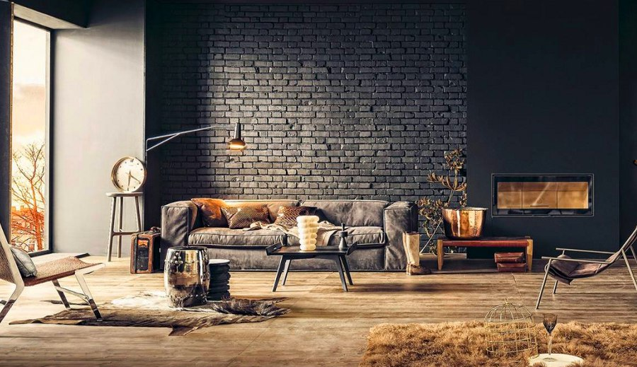 17 surprisingly versatile interior brick wall designs for Interior brick wall designs