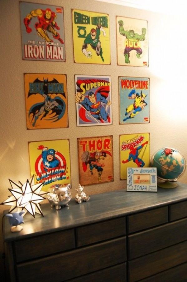 Deco: Παιδικά δωμάτια για αγόρια