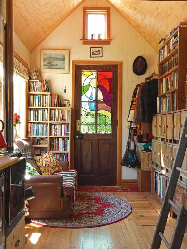 Inside a tiny Christchurch home