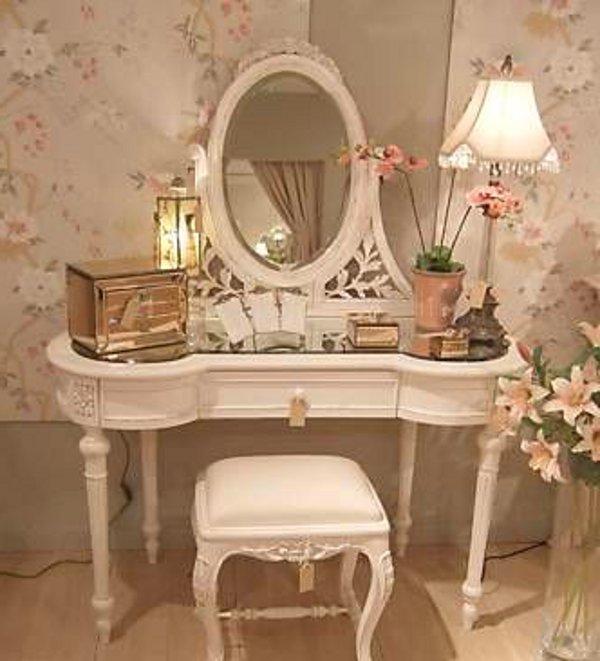- Vintage Vanity Mirror