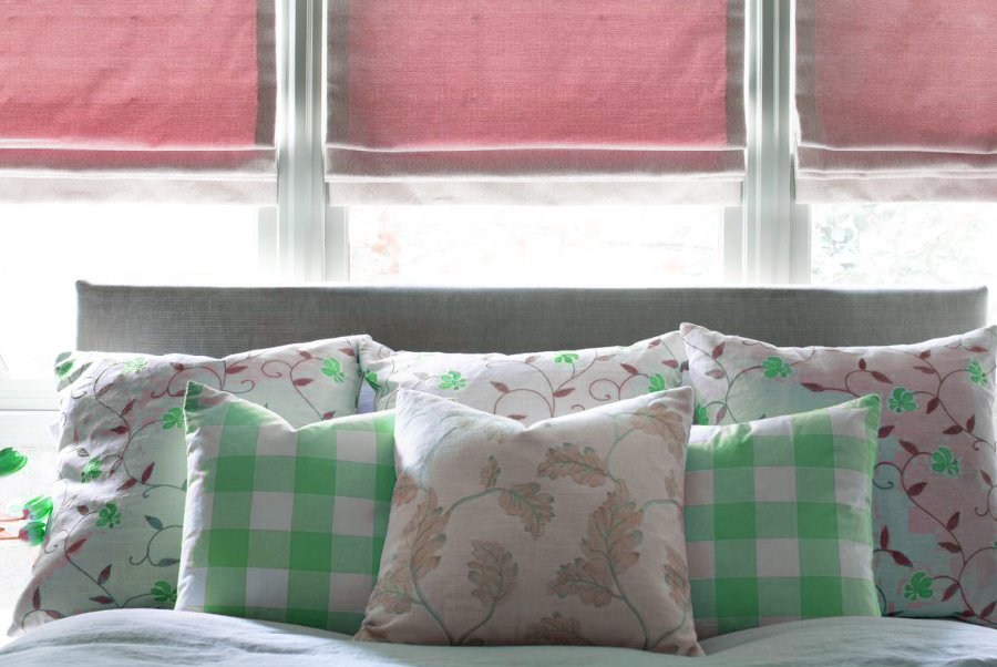 Layered Pillows Decor