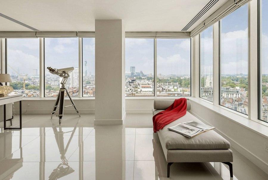 Modern Clean Decor Living Room