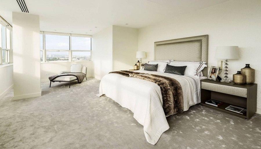 Modern White Design Bedroom