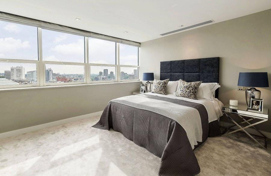 Elegant Decor White Bedroom