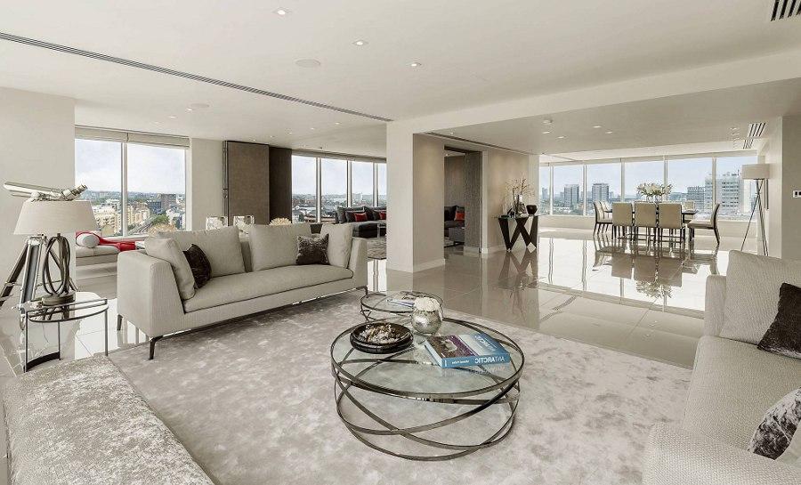 Clean Design Living Room
