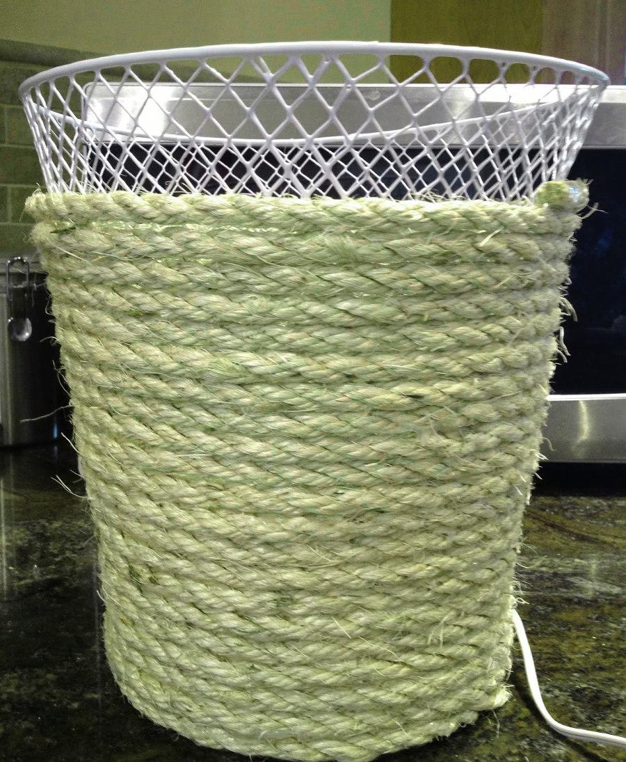 Rope Trash Bin