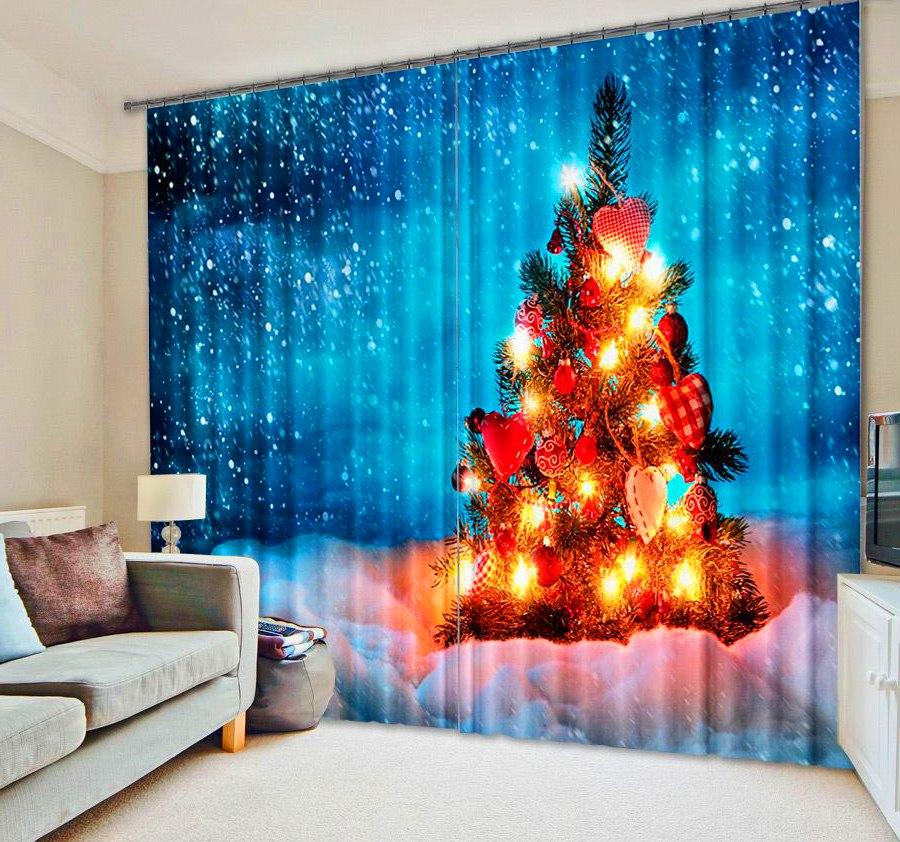 Christmas Tree Curtain