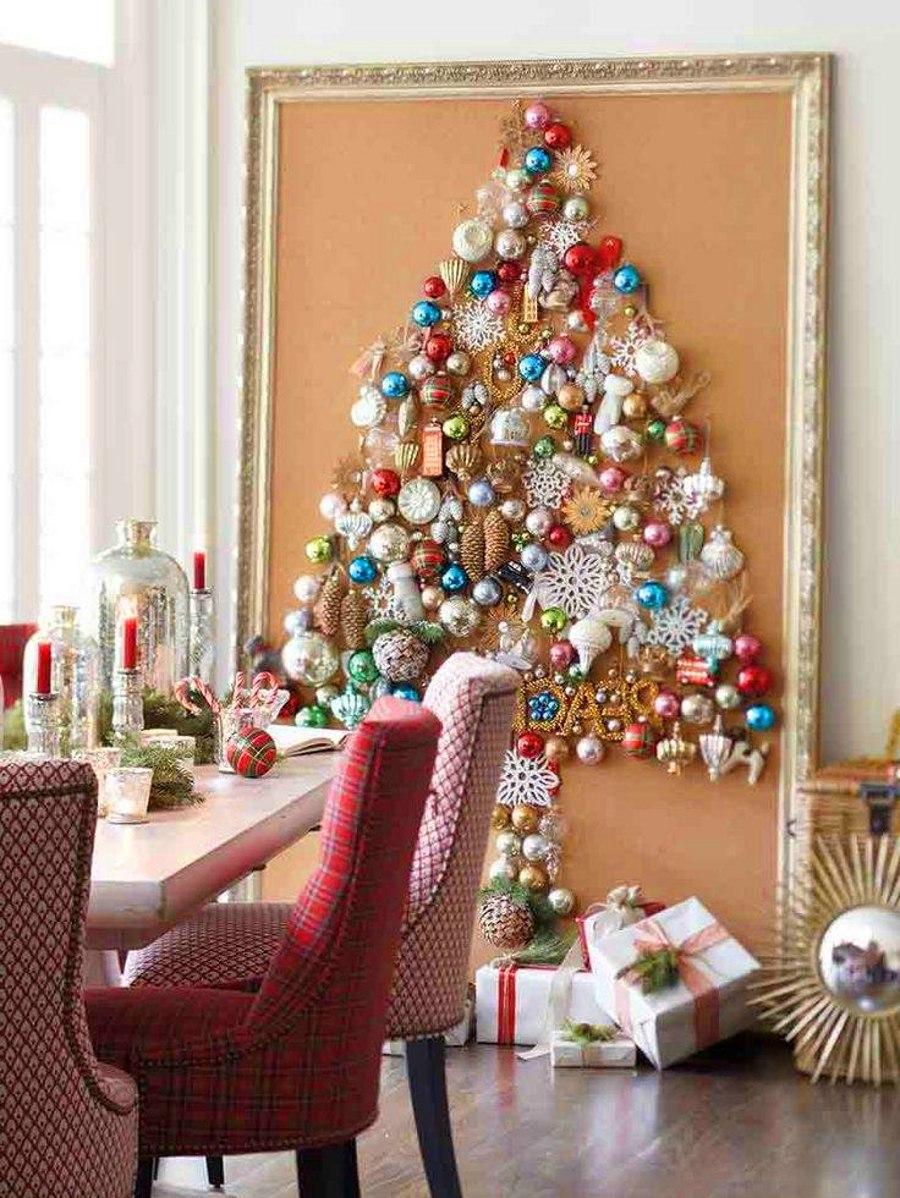 Christmas Tree Painting Frame