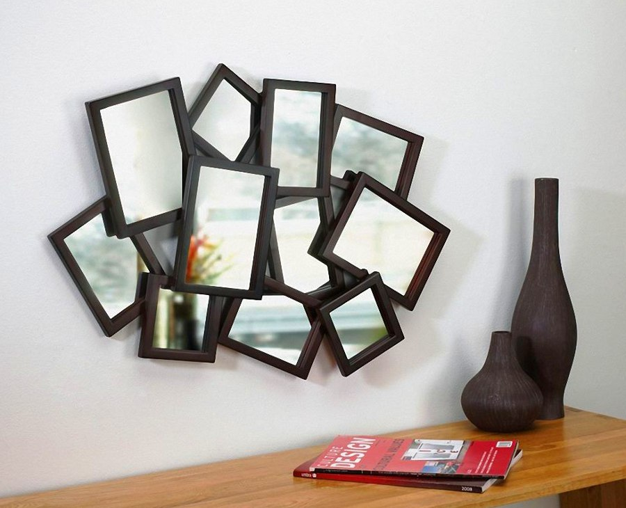Framed Mirrors Art