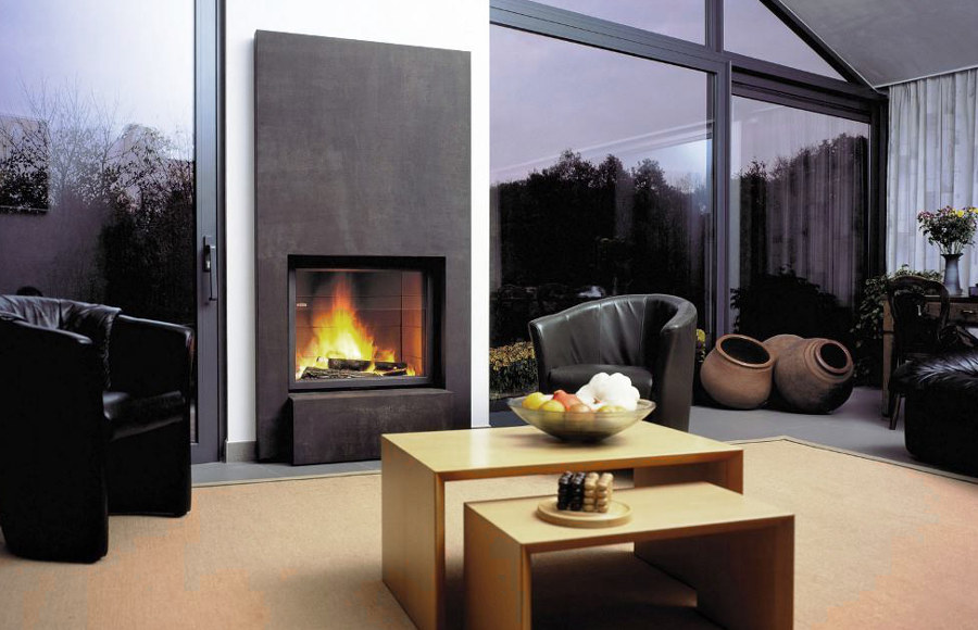 Modern House Fireplace