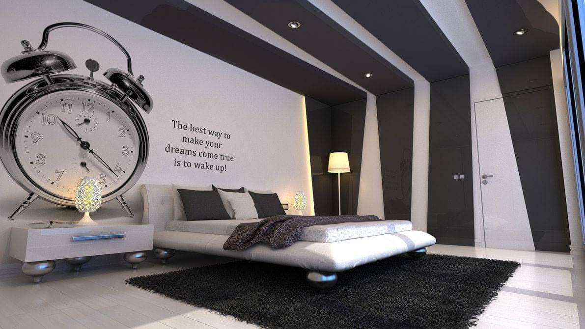 Alarm Clock Wall Art