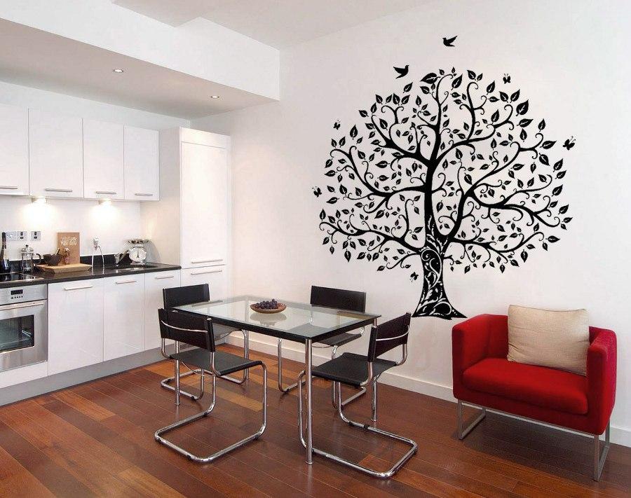 Tree and Birds Wall Art