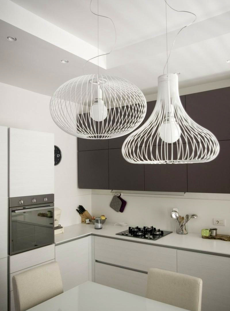 Wire Shapes Chandelier