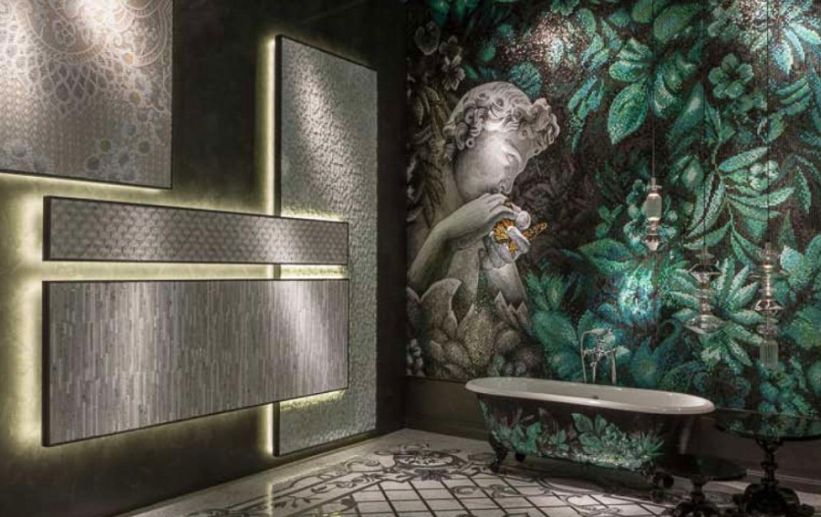 Classic Art Mosaic Bathroom