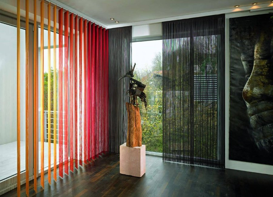 Colorful blinds