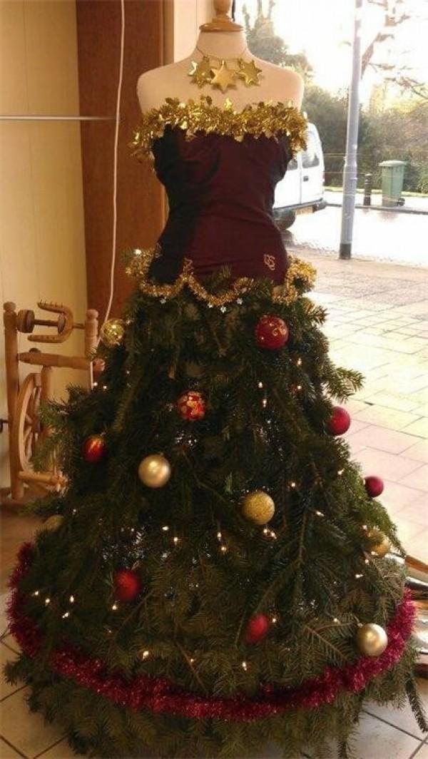 Dress Form Christmas Trees