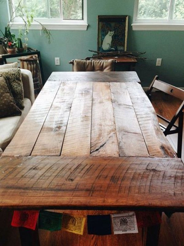 40 Wonderful Farmhouse Tables For That Rustic Touch Page