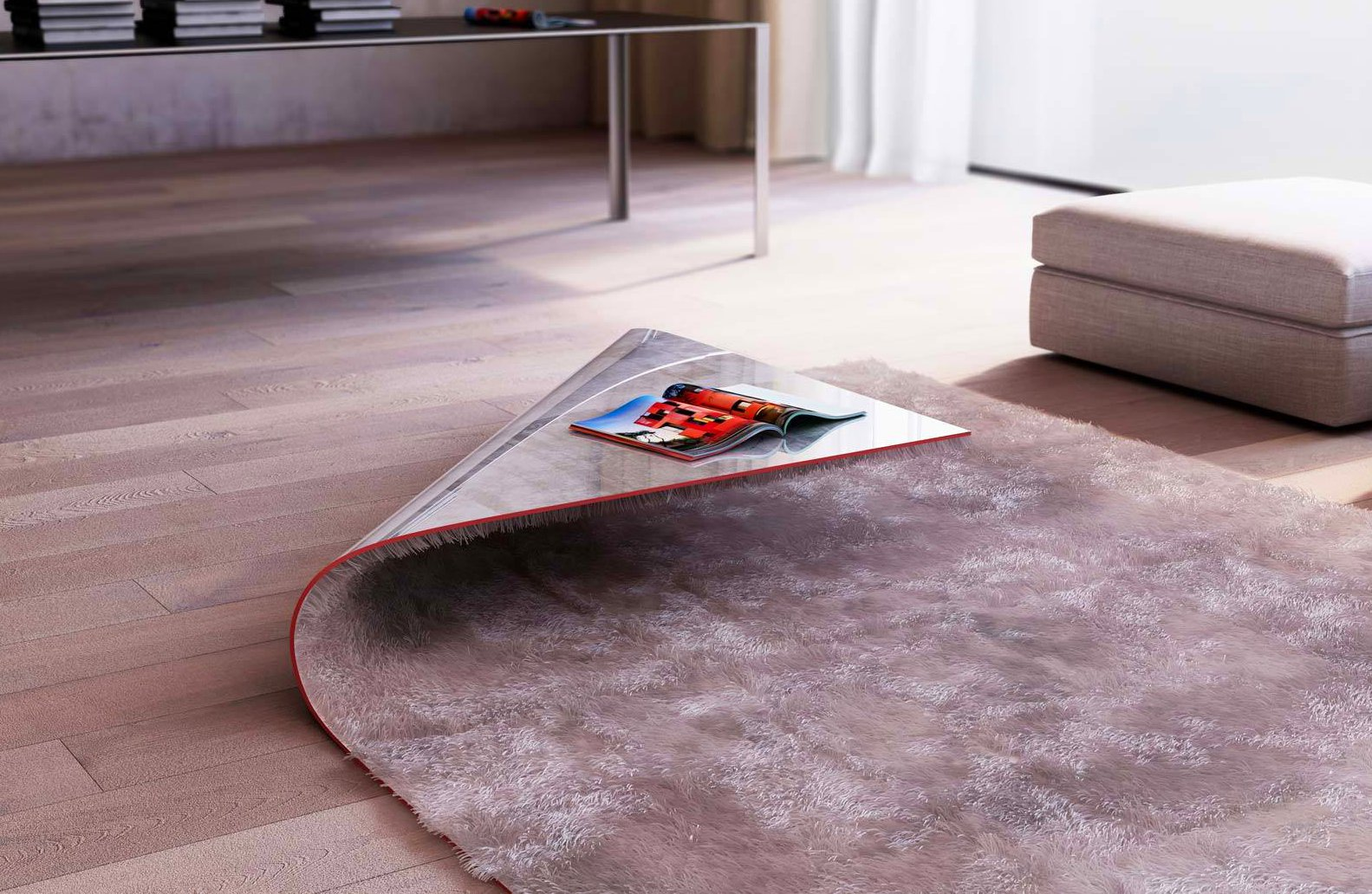 Rug Coffee Table