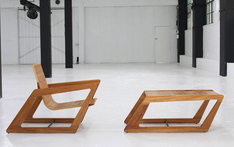 Tilted Coffee Table