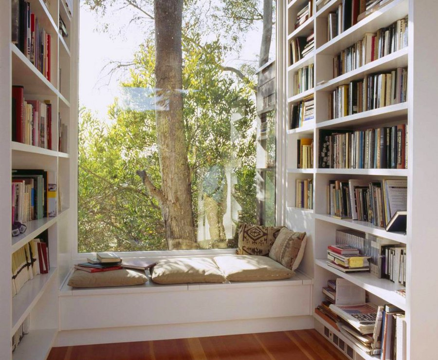 Window Sill Reading Area