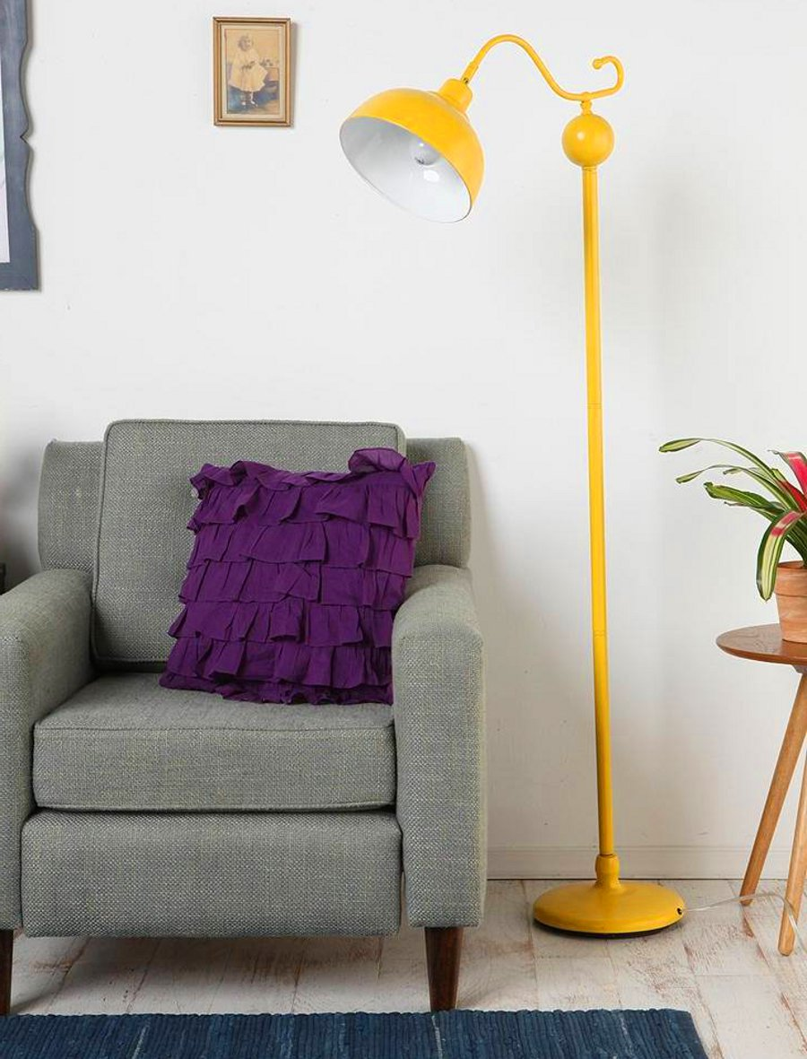 Yellow Reading Lamp