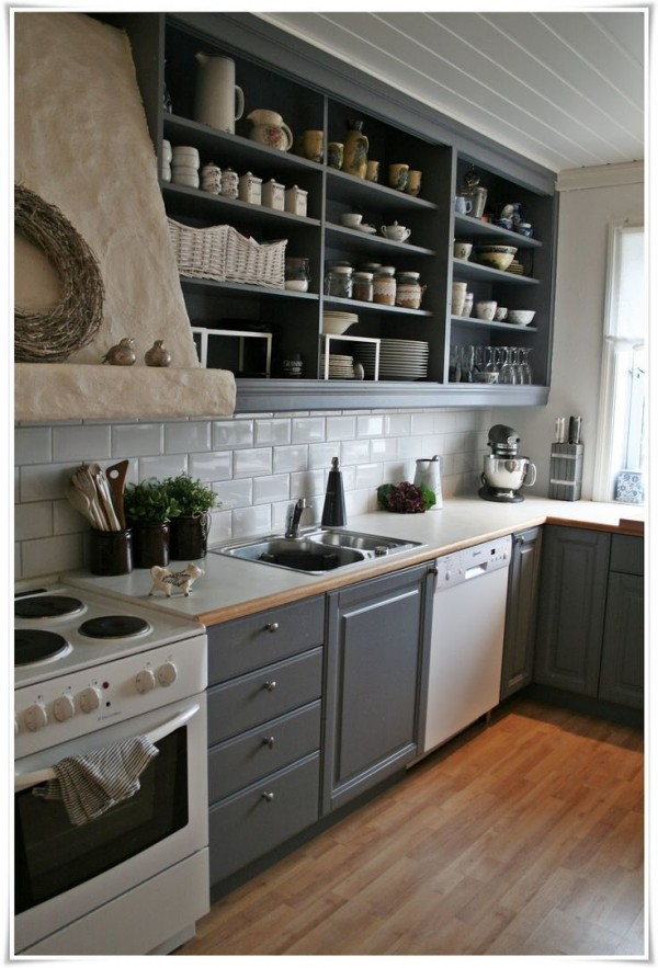 kitchen with open cabinets 25 open shelf ideas to make your kitchen more spacious 22221