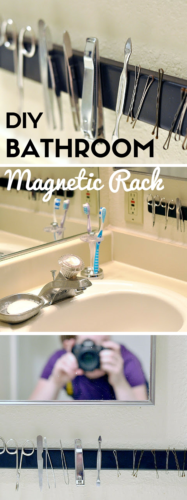 Check out the tutorial:  Magnetic Rack