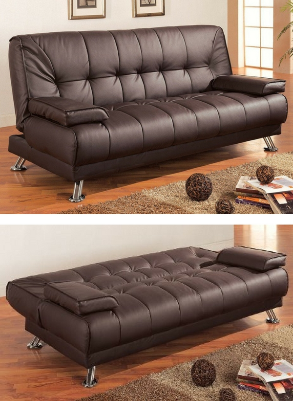 Check out the Coaster Futon Sofa Bed - one of the top 10 best sleeper sofas