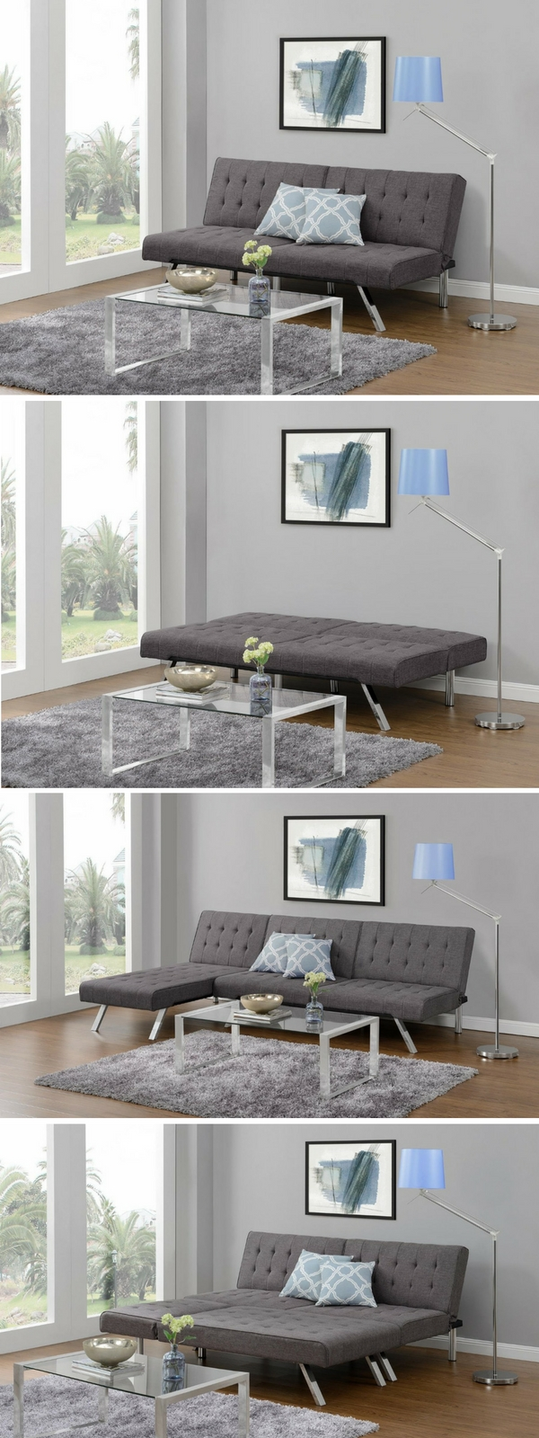 Check out the DHP Emily Convertible Linen Futon - one of the top 10 best sleeper sofas