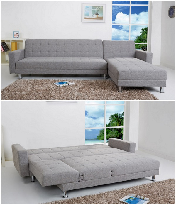 Frankfort Convertible Sectional Sofa Bed - one of the top 10 best sleeper sofas