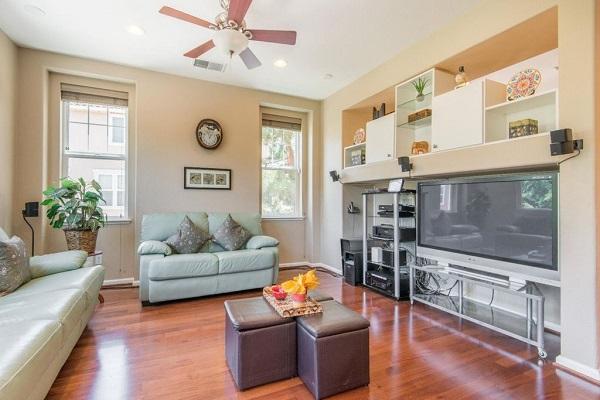 Functional Living Room in Santa Clara, CA