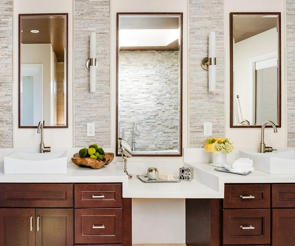 Contemporary bathroom design in Santa Clara, Ca