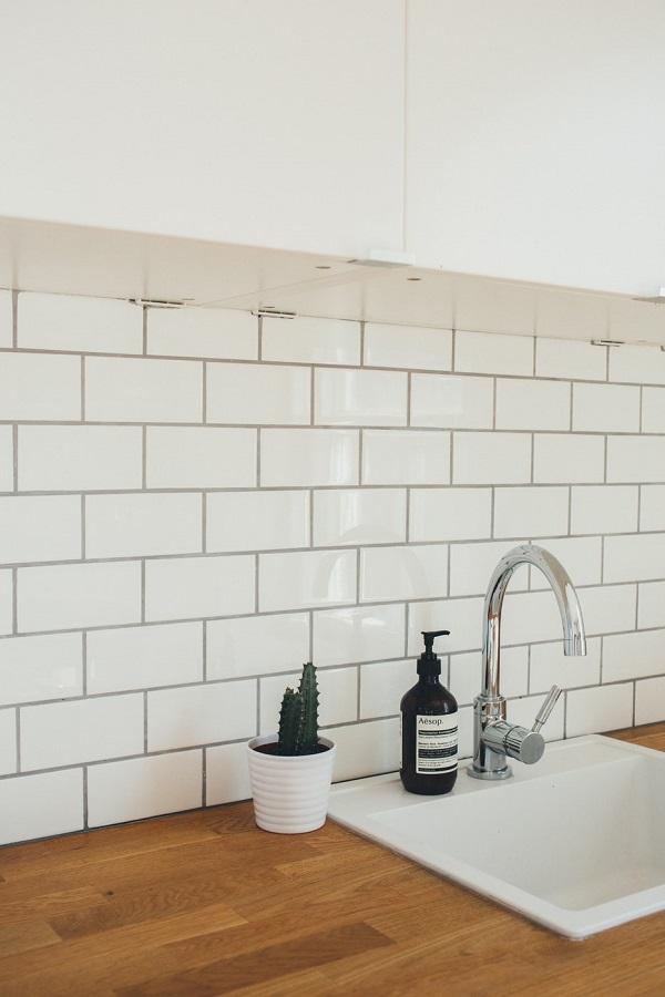 Tiling in kitchen design
